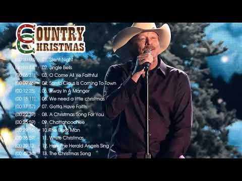 Alan Jackson Christmas Album 2020 - Country Christmas Songs 2020 ♥♥ Country Carols Music ...
