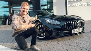 COLLECTING My AMG GT R with Nico Rosberg!