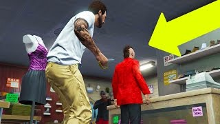 GTA 5 Online - THE BIGGEST MUGGER FAIL EVER! (GTA V Online)