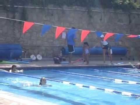 swimming party at the american school in rabat fatema almansoory