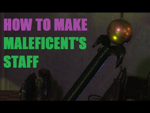 How to make maleficents staff youtube how to make maleficents staff solutioingenieria Images