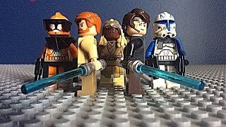 Project Jedi Part 1 Lego Stop Motion