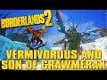 Borderlands 2 Vermivorous & Crawmerax Together + Triple Legendary Drop!