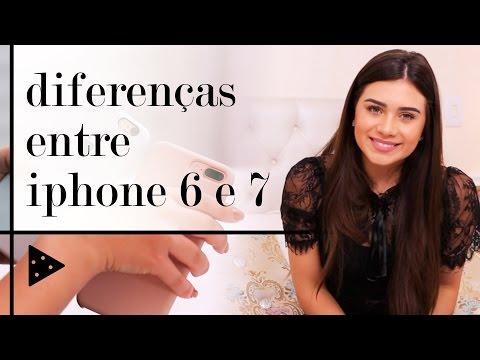 DIFERENÇAS ENTRE IPHONE 6 E 7