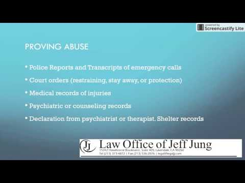 VAWA - Green Cards for Persons in Abusive Relationship with U.S. Spouse