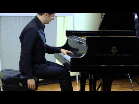 Alessio Bax, piano - Aleksandr Scriabin - Prelude for the Left Hand, Op 9 No 1
