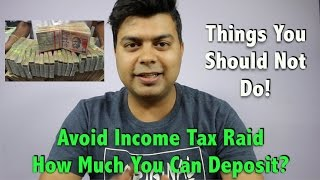 You Can Deposit More Than 2.5 Lakh Limit, Q&A, Doubts Cleared, Avoid Income Tax Penalty