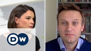 Навальный в 'Немцова.Интервью': Люди боятся расстрела как в Узбекистане, если они выйдут на улицы'