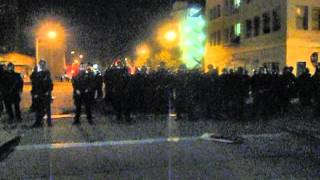Scott Campbell shot by police with rubber bullet at Occupy Oakland