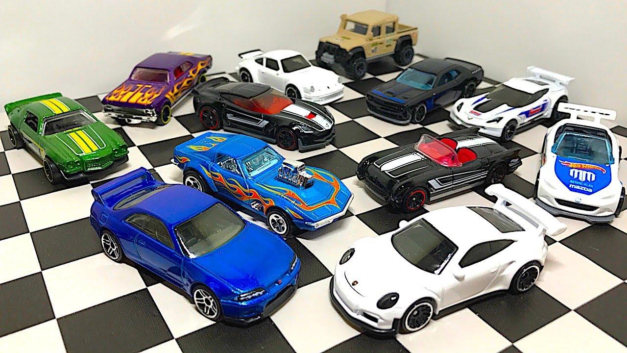 Brand New Hot Wheels Cars Porsche Gt3 Rs Skyline Gt R R33 Land
