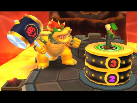 Mario Party: Island Tour - Bowser's Peculiar Peak (2 Player)