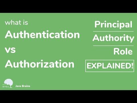 five-spring-security-concepts---authentication-vs-authorization---java-brains-brain-bytes