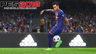 PES 2018 - Gameplay Compilation #3   SKILLS & BODY CONTACT