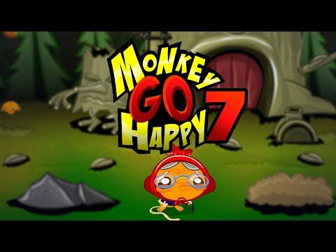 """Игра """"Счастливая Обезьянка 7"""" (Monkey GO Happy 7) - прохождение"""