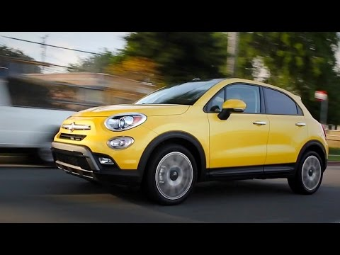 2016 Fiat 500X Review and Road Test