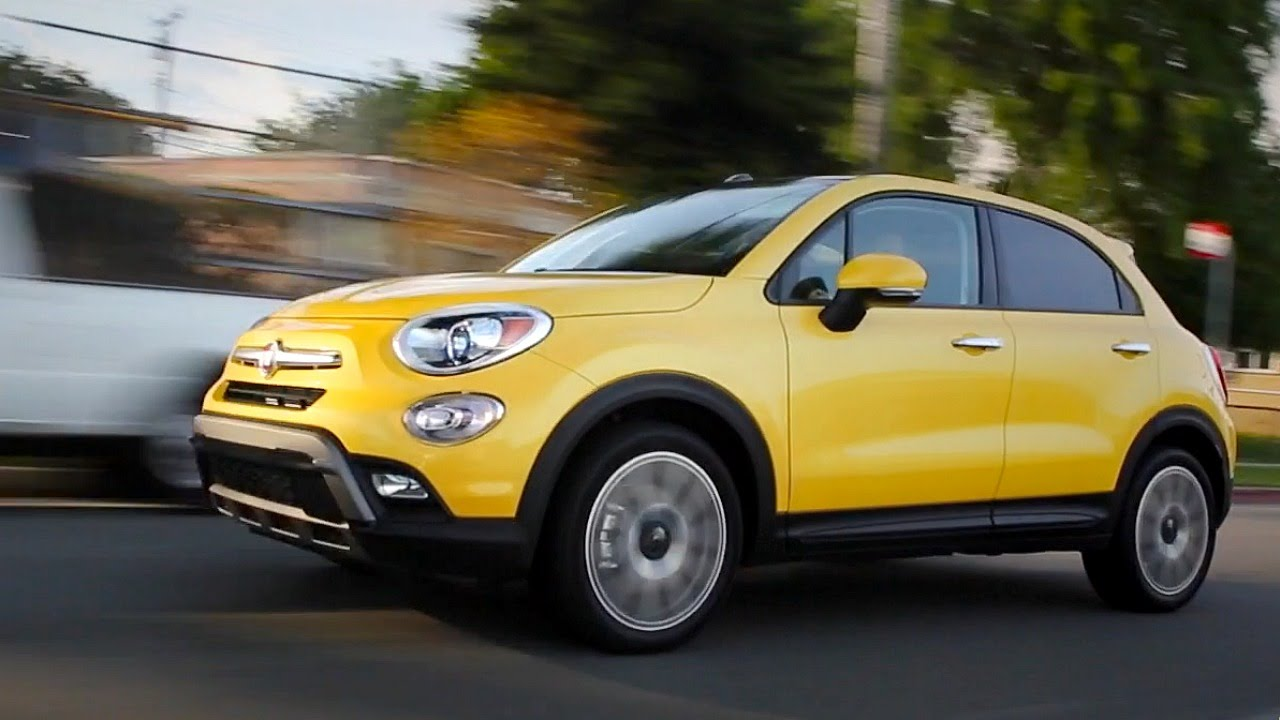 2016 fiat 500x review and road test doovi. Black Bedroom Furniture Sets. Home Design Ideas