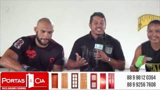 Jhonny Carlos e Mabelly Lima da Equipe Master Kombat, farão estreia no MMA Internacional