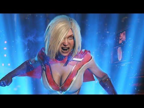 Injustice 2 - Power Girl Multiverse Ladder Walkthrough and Ending