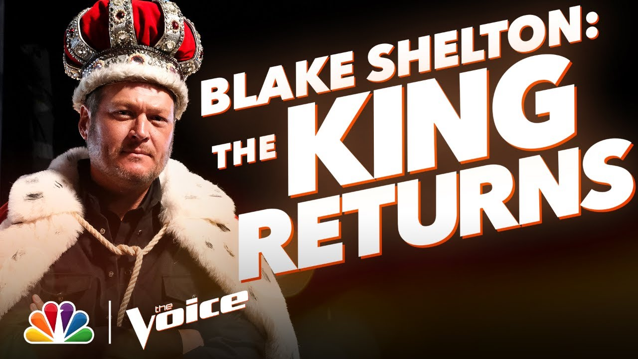Blake Shelton Is the Self-Proclaimed King of The Voice - The Voice 2020