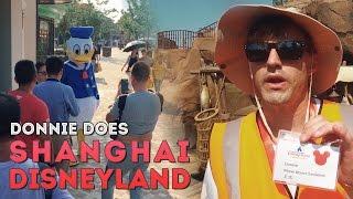 DONNIE DOES | Shanghai Disneyland