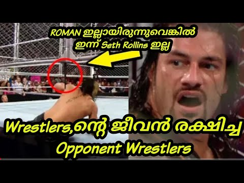 Wrestlers Save Other Wrestlers Life In WWE Wrestling Match