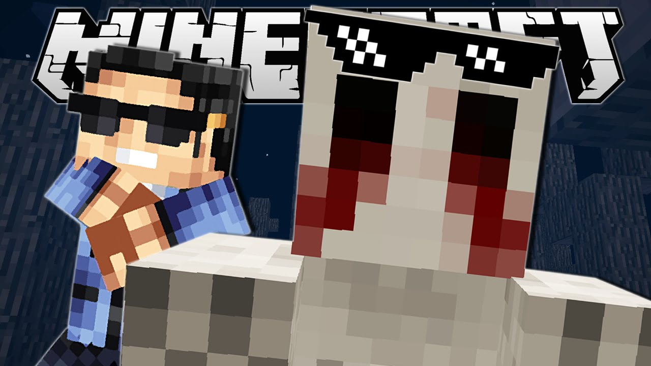 minecraft how to make a jumpscare