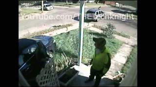 Major Stop Sign car crash