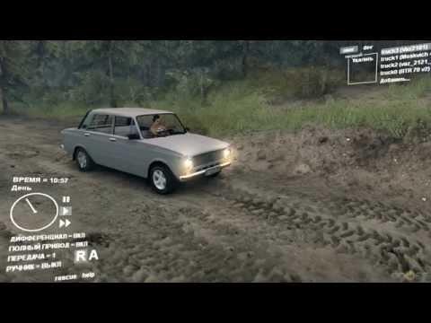 SpinTires: ВАЗ-2101 «Жигули»(Копейка)
