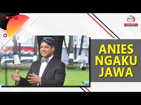 ANIES NGAKU JAWA I Channel Eko Kuntadhi