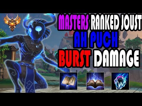 Ah Puch Burst Damage Build!! Masters Ranked Joust- SMITE