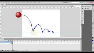 Animation Principles: Squash and stretch- animating a bouncing ball on flash