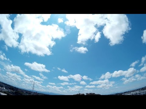 DB POWER EX5000 夏空のタイムラプス撮影 Time-lapse movie of the summer sky