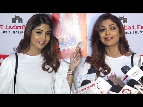Shilpa Shetty At Announcement Of The Mumbai Fest