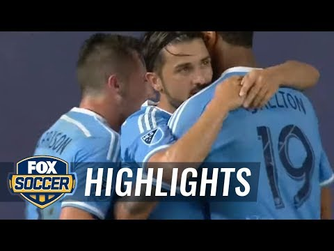 New York City FC vs. Chicago Fire   2016 MLS Highlights