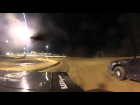 92 Wayne Plunket Pure Stock Heat Race at Northwest Florida Speedway April 8, 2016