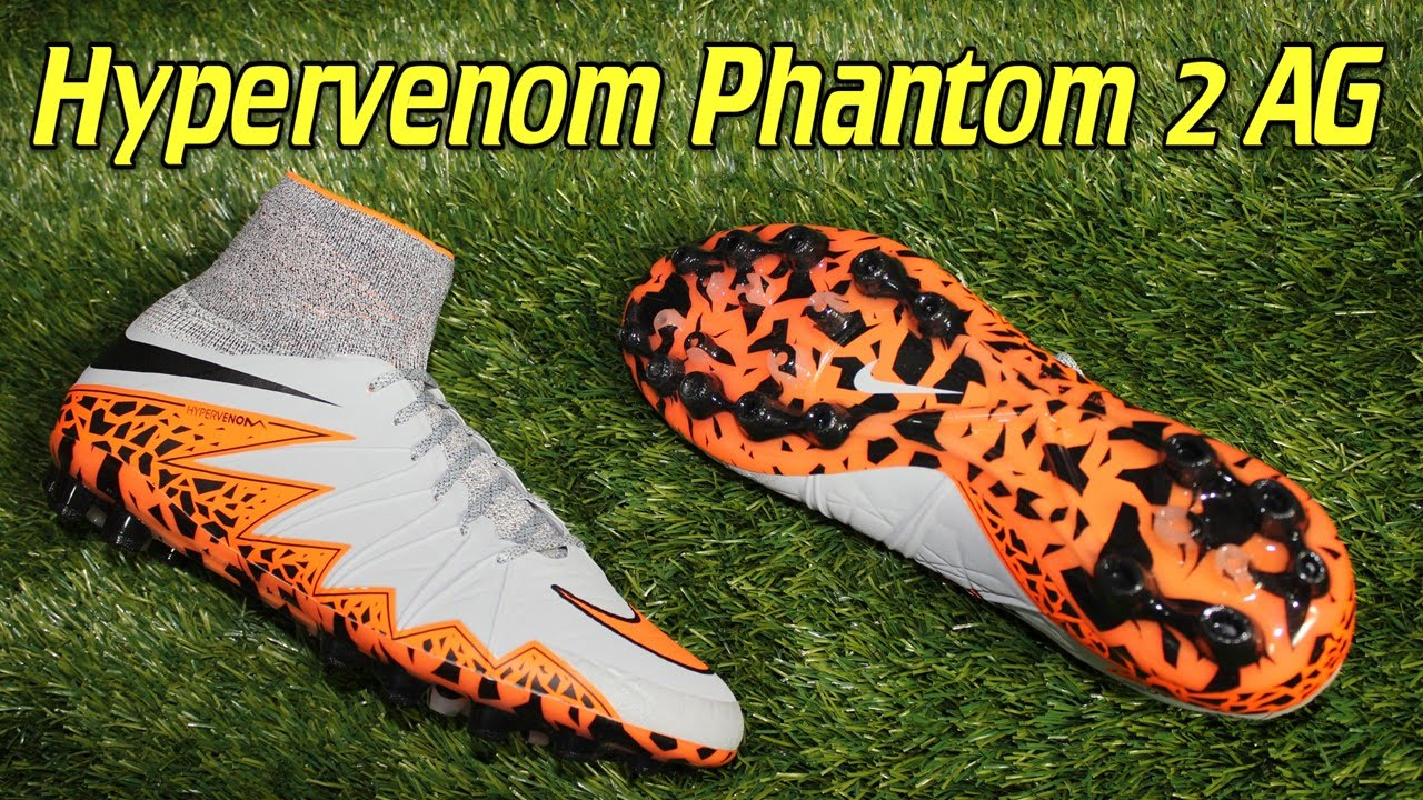 buy popular a1769 8c353 Nike Hypervenom Phantom 2 AG Wolf Grey/Total Orange - Review + On Feet