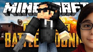 MINECRAFT'TA EĞLENCELİ PUBG | Minecraft: Pubg Modu BKT