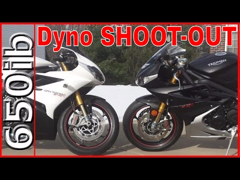 Triumph Daytona R STOCK vs MODS | Dyno SHOOTOUT!