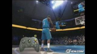 NBA Live 2005 Sports Gameplay - Advanced Dunks