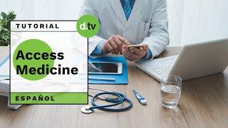 DOTLIB - MGH AccessMedicine (Español) - Tutorial