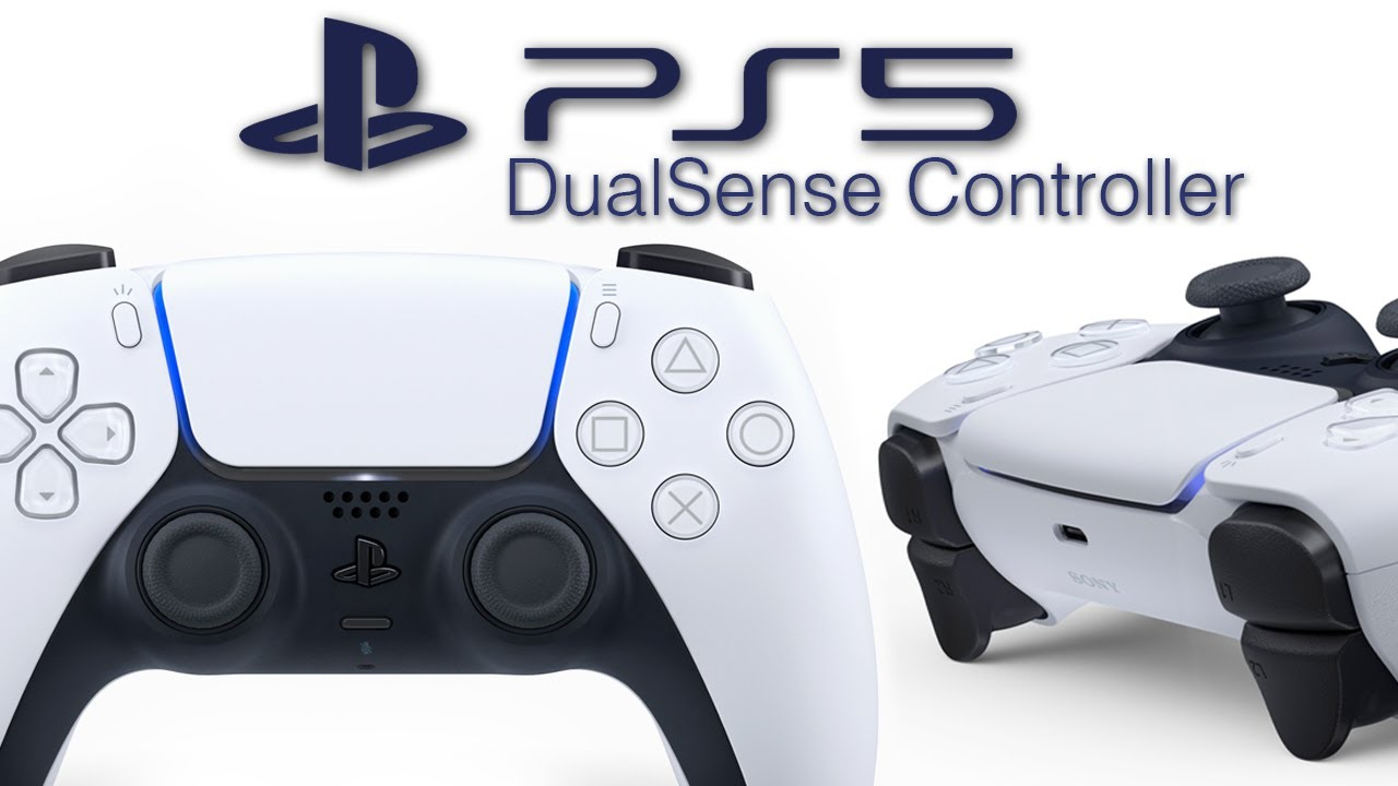 Official PS5 Controller Revealed: DualSense - New Design, Mic ...
