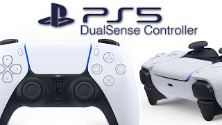 Official PS5 Controller Revealed: DualSense - New Design, Mic, Light Bar, Create Button.