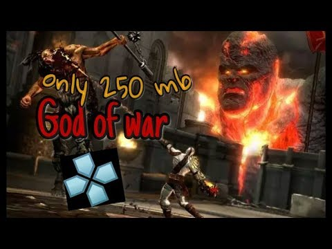 god of war 2 ppsspp only download