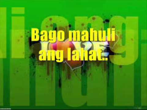 bago mahuli ang lahat never the strangers mp3