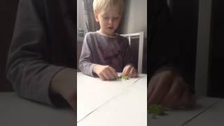 Як зібрати амняма з Лего інструкція