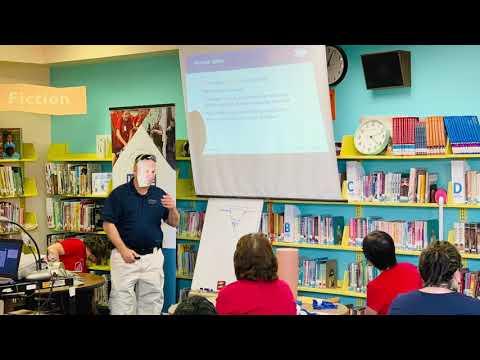 Lineweaver Elementary School Bleeding Control Training Event