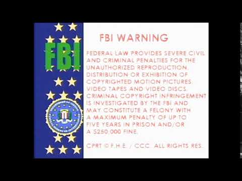 """Family Home Entertainment """"The USA Flag"""" Warning Screen (1981-1982) (RECONSTRUCTION)"""