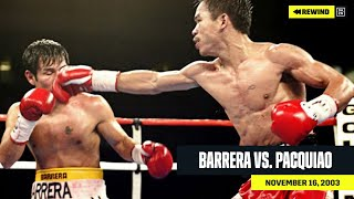 FULL FIGHT | Marco Antonio Barrera vs. Manny Pacquiao (DAZN REWIND)