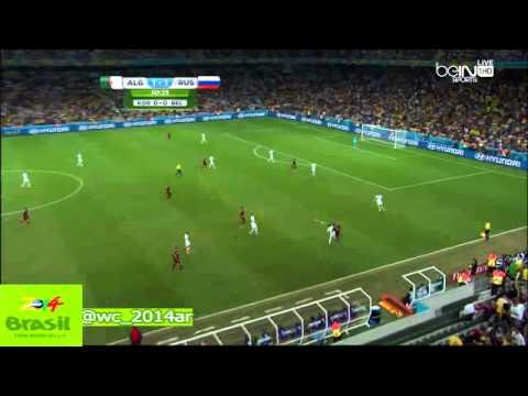 "Algeria 1-1 Russia match complet ""hafid derradji"""