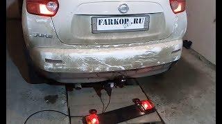 Установка фаркопа на Nissan Juke (2011 г.в.) в компании Фаркоп161. Leader-plus арт. N116-A